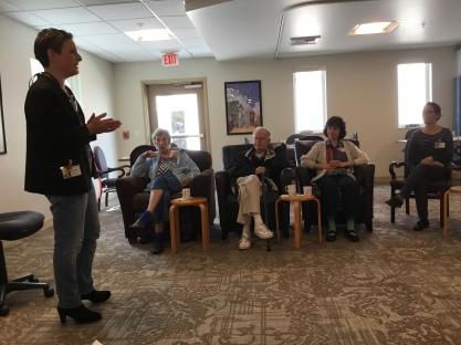 Jemi teaching on Shabbat practices (1)